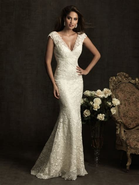 V Neck Wedding Dress by Wedding Dress Business Wedding Dress With V Neck