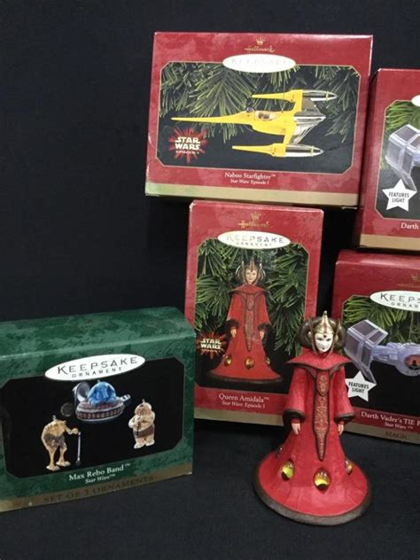 hallmark collectible ornaments value set of 7 hallmark collectible wars keepsake ornaments i