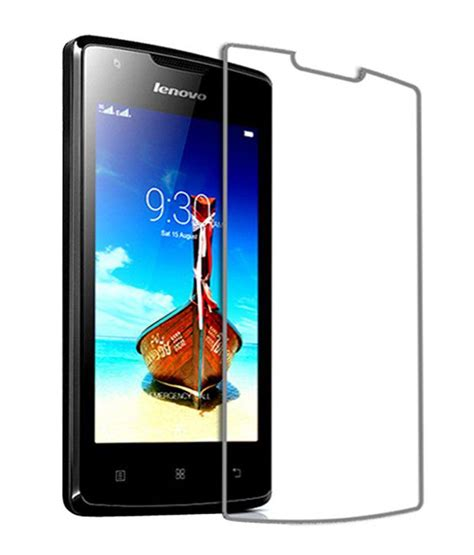 Screen Guard Lenovo A1000 lenovo a1000 tempered glass screen guard by kratos