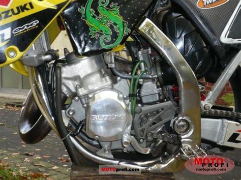 Suzuki 125 Engine Suzuki Rm 125 2003 Specs And Photos