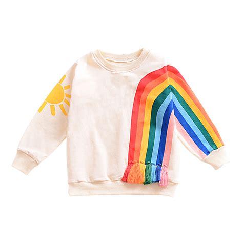 Tshirt Longsleeve Rainbow Code Art370021 2017 sleeve t shirt for fall