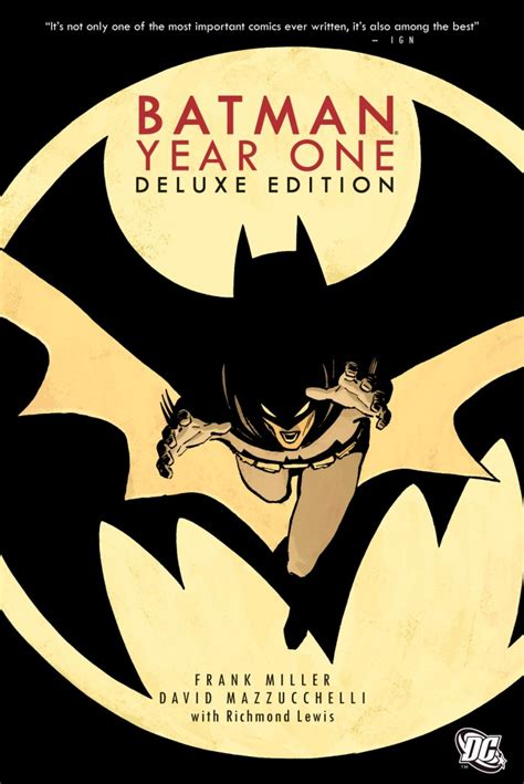 the the deluxe edition year one batman year one deluxe edition hc the batman