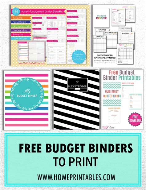 free printable home binder pages calendar template 2016 handpicked 10 free budget binders to print home printables