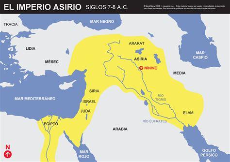 el asirio los jet mapa del imperio asirio visual unit