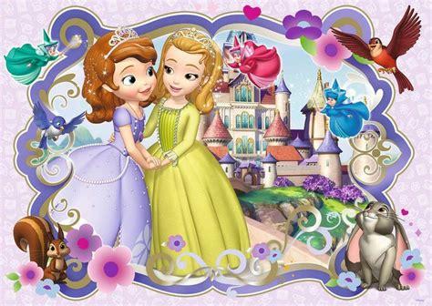 princess sofia and princess amber in sofia the first sofia the first princess amber fabric t shirt iron on