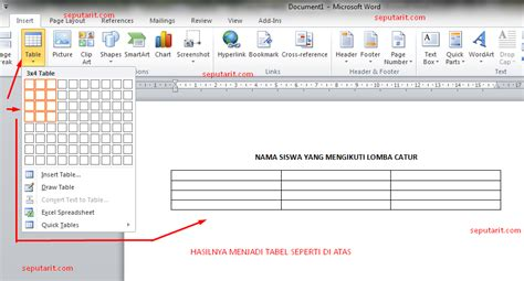 membuat tabel html menggunakan notepad cara membuat html menggunakan tabel belajar html dasar