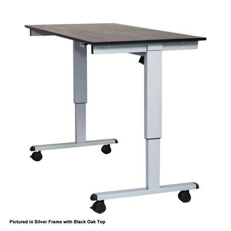 luxor 48 electric standing desk luxor stande 48 bk dw 48 electric standing desk black