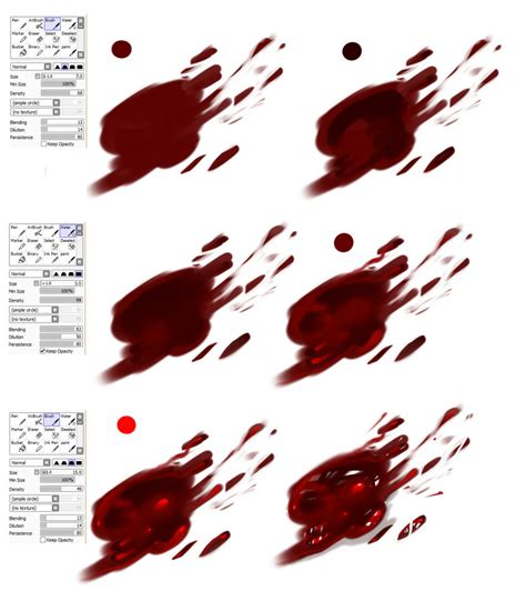 paint tool sai blood tutorial easy blood tutorial by ryky on deviantart