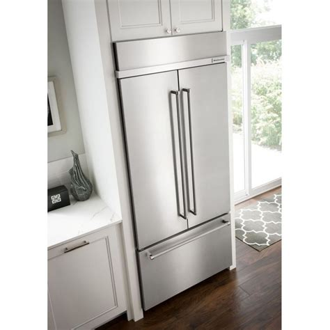 What Is A Panel Ready Refrigerator by Kitchenaid Kbfn502epa 42 Quot Door Panel Ready