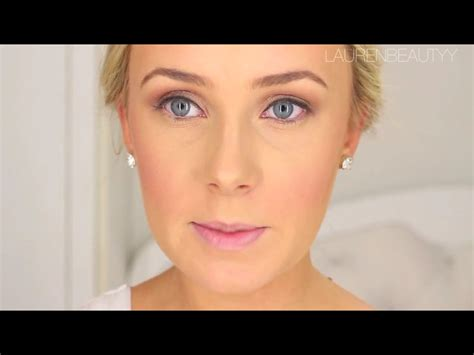 hair and makeup tutorials youtube wedding natural makeup tutorial by laurenbeautyy youtube