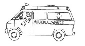 ambulance coloring pages ambulance coloring pages free printable for primaryschool