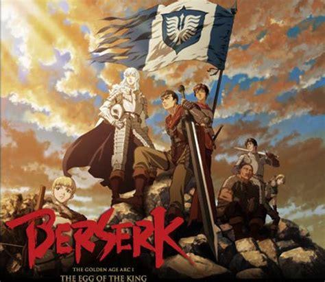 berserk golden age arc new berserk anime to be released this fall