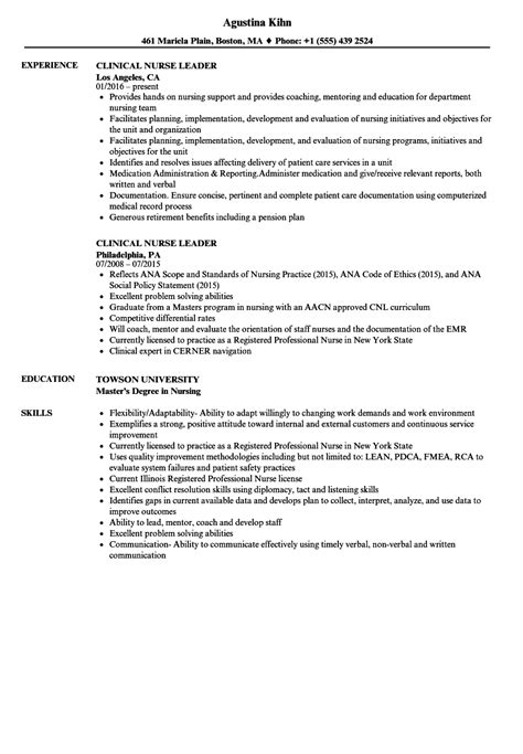 Resumes Exle by Leadership Resume Exle Sanitizeuv Sle Resume