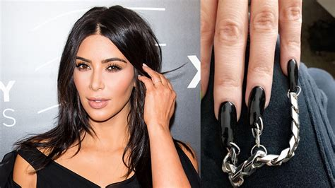 kim kardashian s tattoos rocks pierced nails plans to release