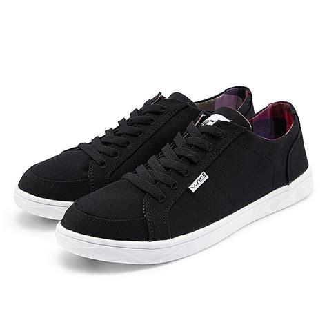 vancl harman plain canvas shoes black sku wholesale