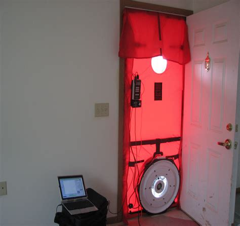 Blower Door Testing by Blower Doors Blower Door Test Photo 1