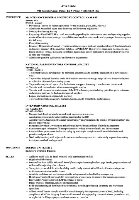 mesmerizing inventory resume description on inventory manager job