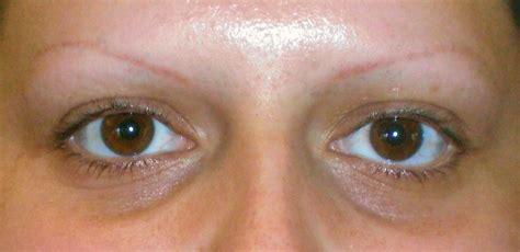 tattoo eyebrows sacramento before and after photos wakeup wearing makeup