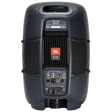 Speaker Subwoofer Jbl 10 Inch jbl eon 510 self powered 10 inch speaker two way bass reflex design