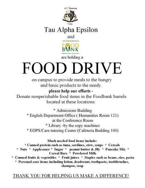 Donation Letter For Food Drive Food Donations Flyer Donations Flyer Pet Food