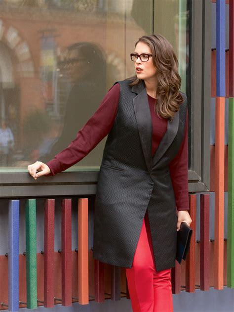 download pattern burda long waistcoat plus size 01 2014 129 sewing patterns