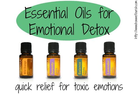 Emotional Detox Essential Oils 183rd wildcrafting wednesday mind and sole
