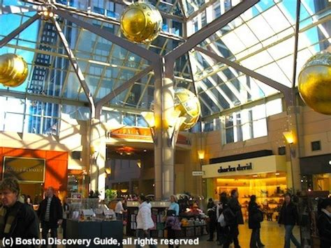 Boston Shopping Malls Best Biggest Luxury Discount Malls