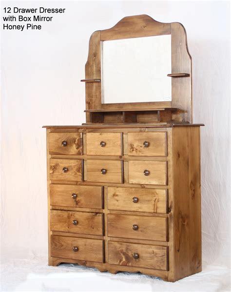 14 Drawer Dresser by 14 Drawer Dresser With Box Mirror