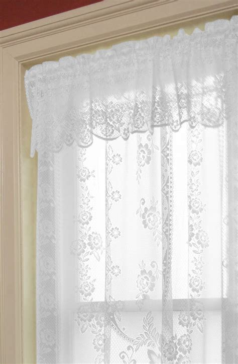 rose lace curtains victorian rose valance heritage lace heritage lace curtains