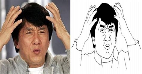 Jackie Chan Meme Face - image gallery jackie chan confused look