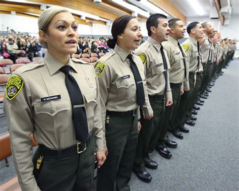 California Correctional Officer by Cdcr Cadet Graduation Part Of Large Correctional Officer