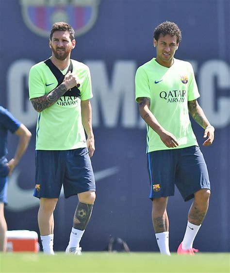 barcelona superstar neymar reveals latest lionel messi neymar reveals emotional chat with barcelona