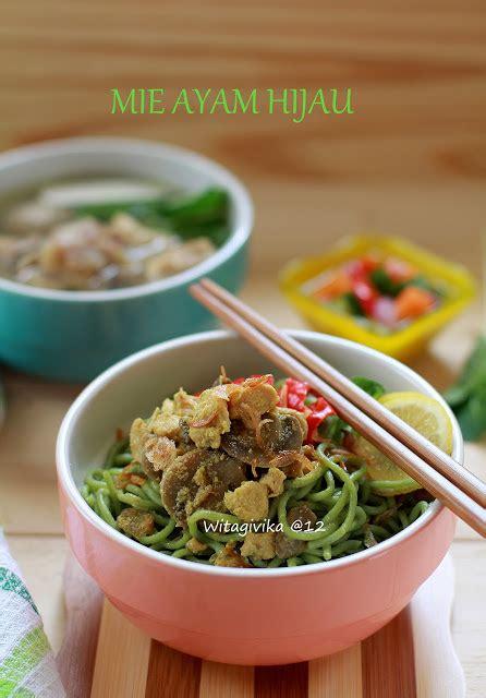 dapur givika mie ayam jamur hijau