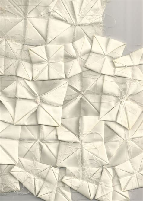 Origami Materials - origami fabric manipulation