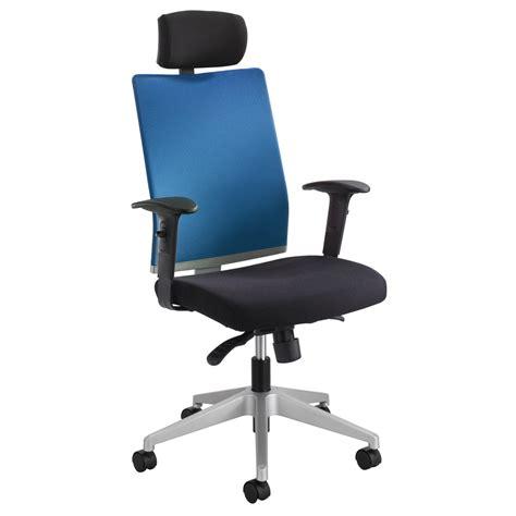 desk chair with headrest tez manager chair with headrest zuri furniture