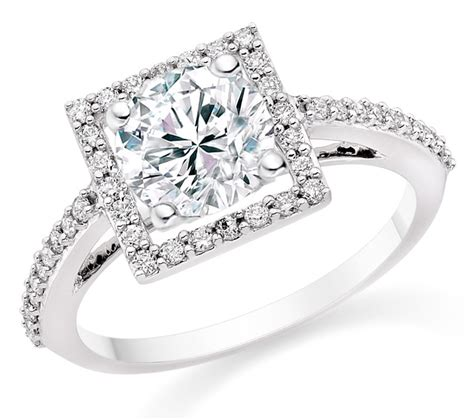 gorgeous white gold engagement ring ideas trends for