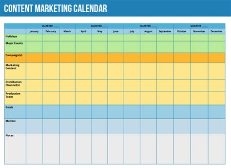 content marketing calendar template marketing calendar template 2016 calendar template 2018