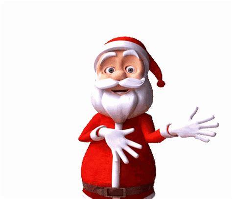 jolly santa dance gif jolly santadance christmasmusic discover share gifs