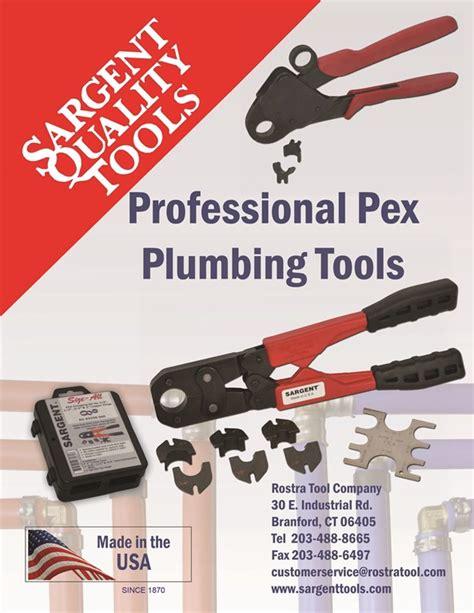 Plumbing Supply Catalog by Pex Plumbing Tools Catalog