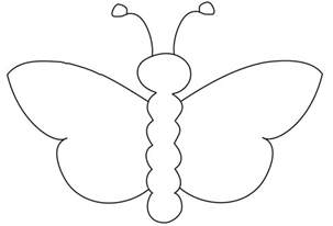 butterfly outline pattern 4 gclipart