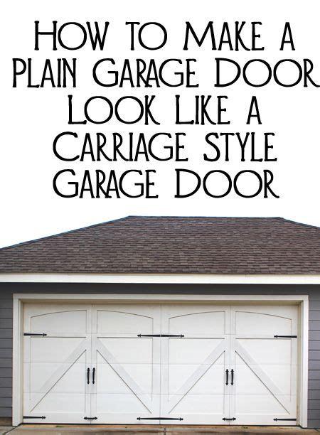 How To Update Garage Door by Best 20 Garage Door Update Ideas On