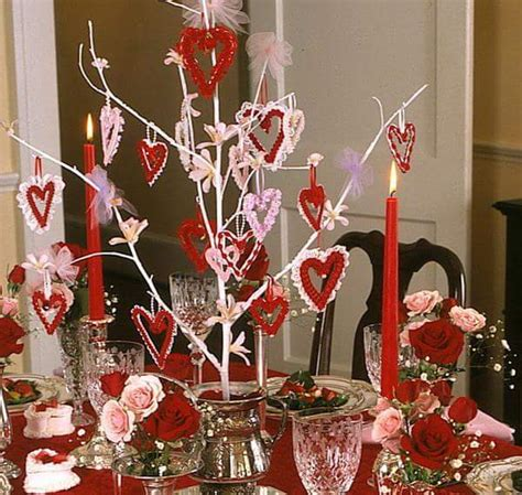 valentine day table decorations 60 easy and creative valentine s day decorations for home