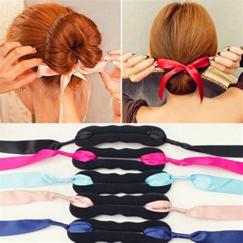 twist holder clip bun hair twist braid tool set of 2 elegant ribbon magic french twist bun maker clip hook