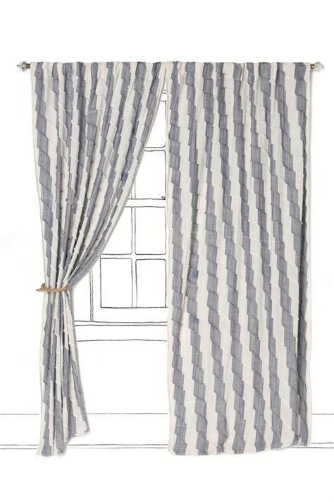 chevron stripe curtains love the stripes chevron gray white striped curtains