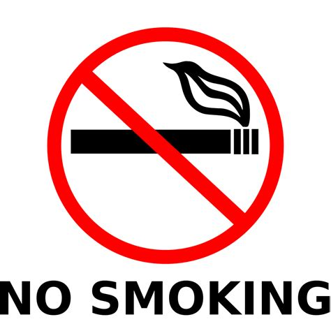No Smoking Sign Wiki | file no smoking sign svg wikipedia