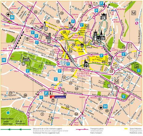 lausanne map click to see large