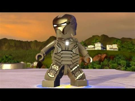 lego marvel's avengers iron man (mark 40) unlock + free