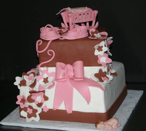 Brown And Pink Baby Shower by Brown And Pink Baby Shower Cakecentral