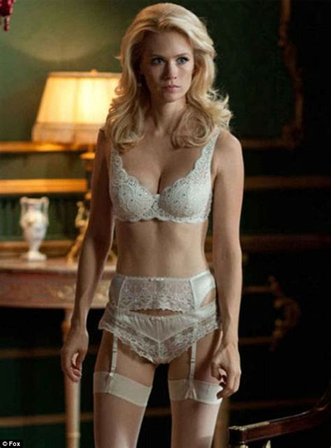 will emma frost return for x men days of future past january jones goes shopping wearing all white like her x
