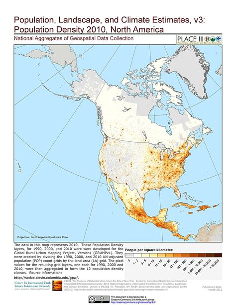 map of america population density maps 187 national aggregates of geospatial data collection